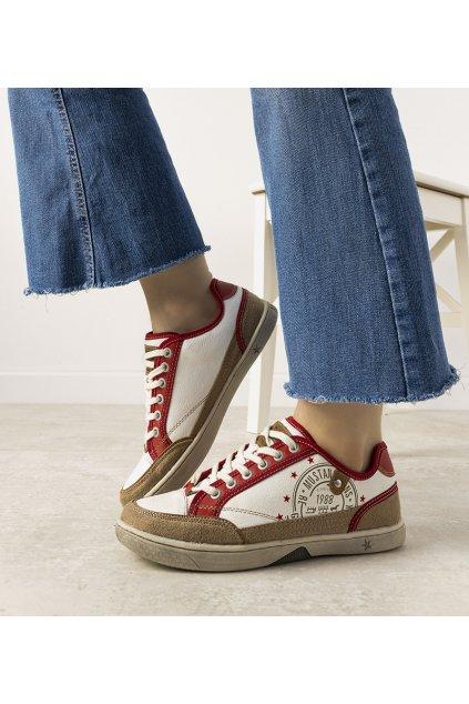 Dámske topánky tenisky červené kód 33012-1 - GM