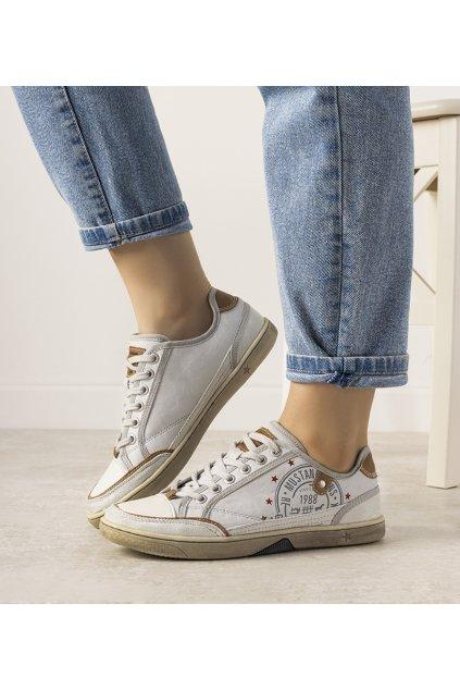 Dámske topánky tenisky sivé kód 33012-2 - GM