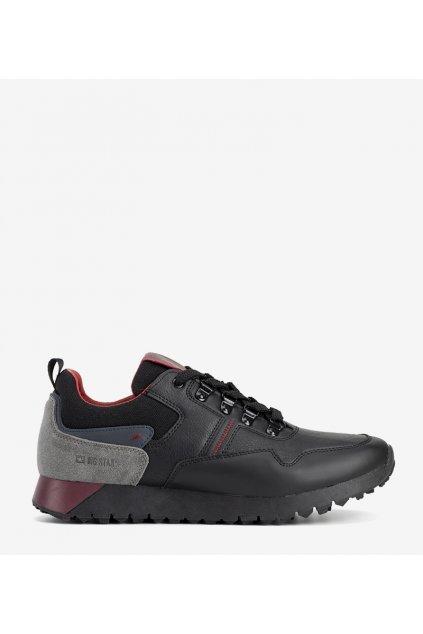 Pánske topánky tenisky čierne kód II174090 - GM