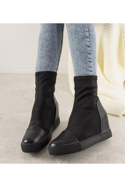 Dámske topánky tenisky čierne kód HQ887 - GM