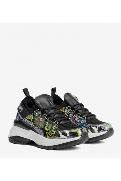 Dámske topánky tenisky čierne kód 8195-SP - GM