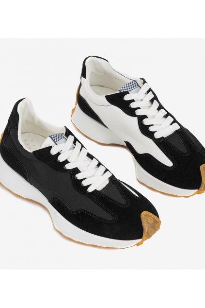 Pánske topánky tenisky čierne kód RJ115 - GM