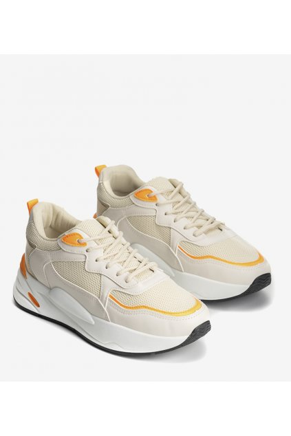 Dámske topánky tenisky hnedé kód GB-001 - GM