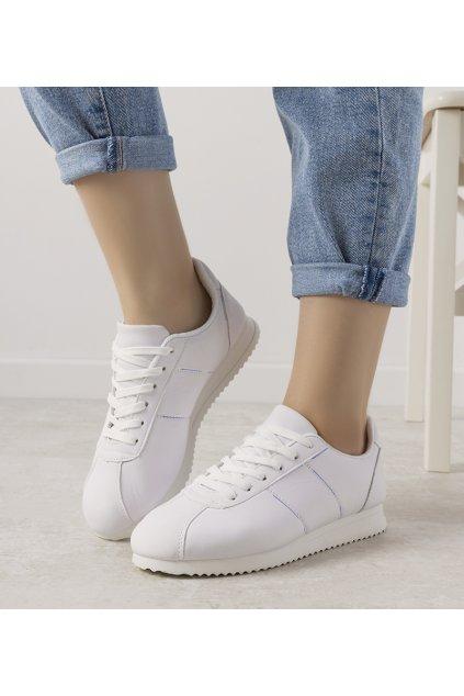 Dámske topánky tenisky biele kód D06-N3 - GM