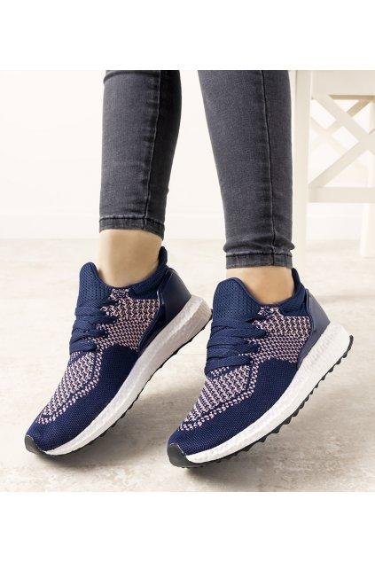 Dámske topánky tenisky modré kód 7-2134E - GM