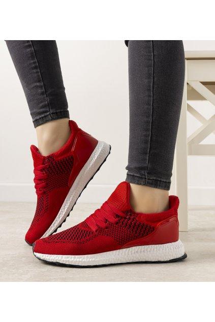 Dámske topánky tenisky červené kód D2134-5 - GM