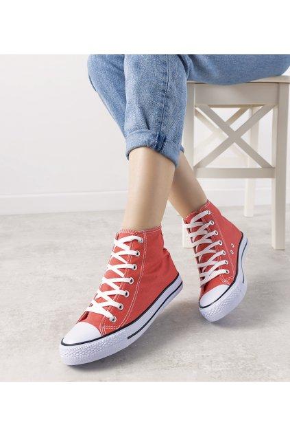 Dámske topánky tenisky ružové kód B71N-9 - GM