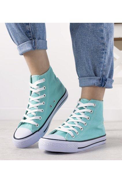 Dámske topánky tenisky modré kód B71N-11 - GM