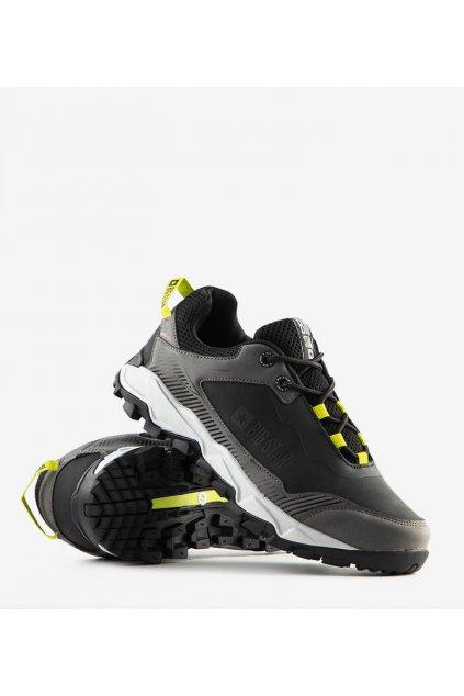 Pánske topánky tenisky čierne kód II174136 - GM