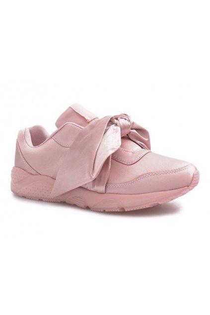 Dámske topánky tenisky ružové kód 86-166 PINK - GM