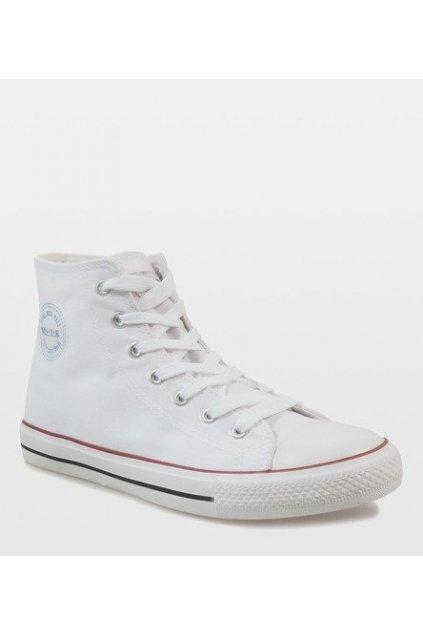 Pánske topánky tenisky biele kód CQ-1401 WHITE - GM