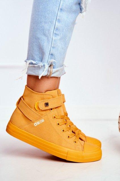 Dámske tenisky farba žltá kód obuvi FF274581 YELLOW