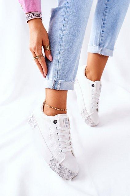 Dámske tenisky farba biela kód obuvi II274181 WHITE