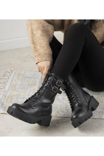 Dámske topánky BS čierne kód II274113 - GM