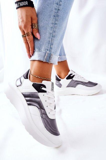 Dámske tenisky farba biela kód obuvi II274335 WHITE