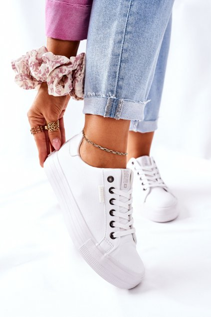 Dámske tenisky farba biela kód obuvi II274348 WHITE