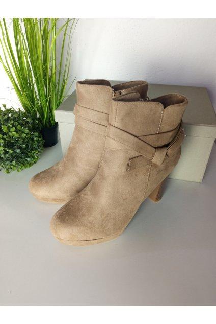 Béžové topánky NJSK J19KH