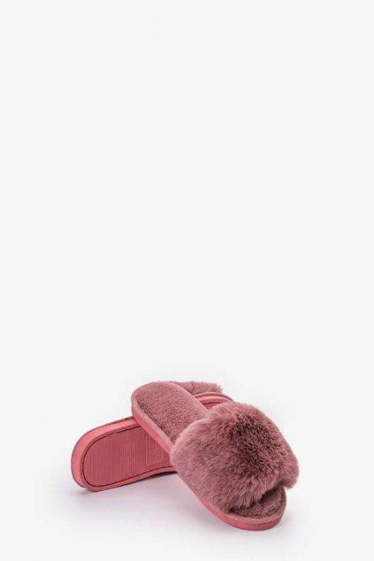 Dámske šľapky ružové kód - GM
