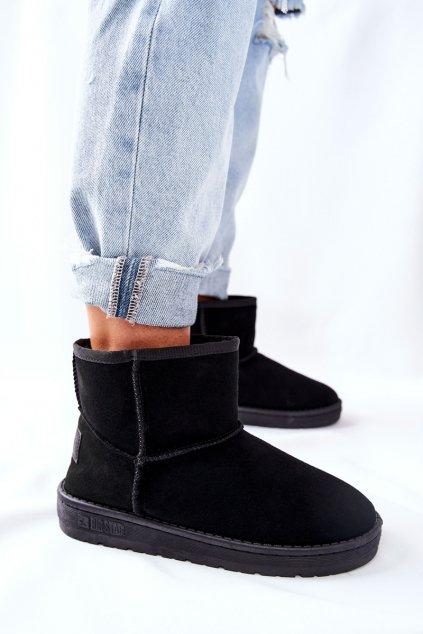 Dámske snehule farba čierna kód obuvi II274440 BLK