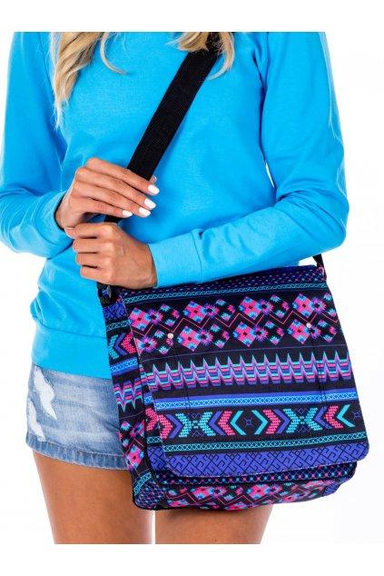 Textilná kabelka cez rameno s farebnými vzormi kód CE-TR-TN-1029.65