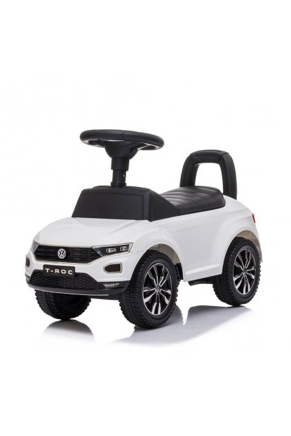 Detské odrážadlo Volkswagen T-Roc Baby Mix biele