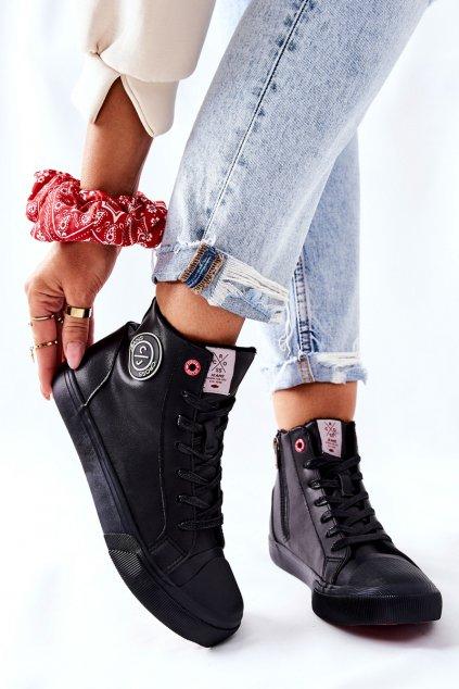 Dámske tenisky farba čierna kód obuvi II2R4009C BLK