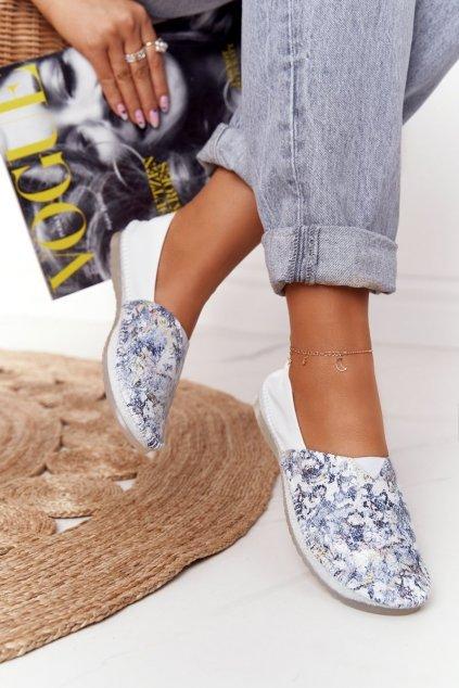 Dámske balerínky farba biela kód obuvi 01930-85/00-0 BIAŁY, GRANAT