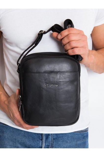 Pánska kabelka čierna kód CE-TR-8021-NDM-PA.99