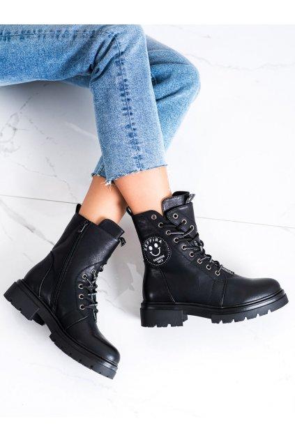 Čierne dámske topánky Evento kod 21BT35-4263B