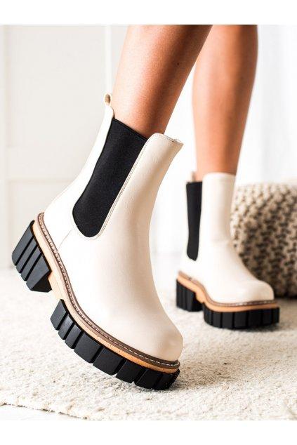 Hnedé dámske topánky Seastar kod NS228BE