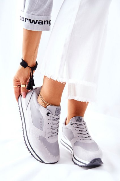Dámske tenisky farba sivá kód obuvi II274219 GREY