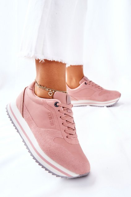 Dámske tenisky farba sivá kód obuvi II274218 NUDE