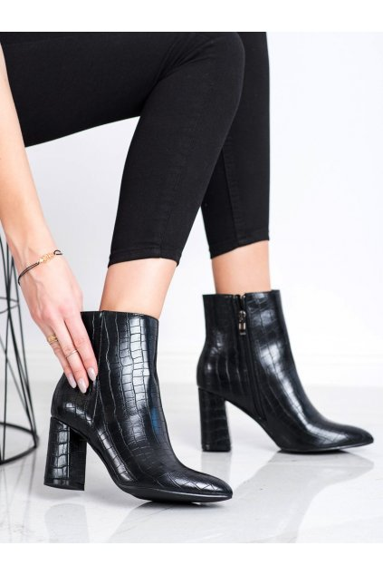 Čierne dámske topánky Goodin kod GD-OD-65B