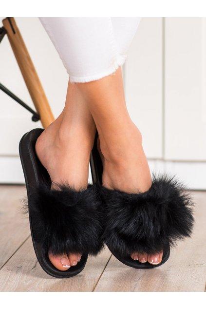 Čierne dámske topánky na doma Bona kod RS-45B