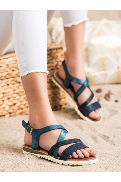Fialové dámske sandále Evento kod 20SD14-2064N