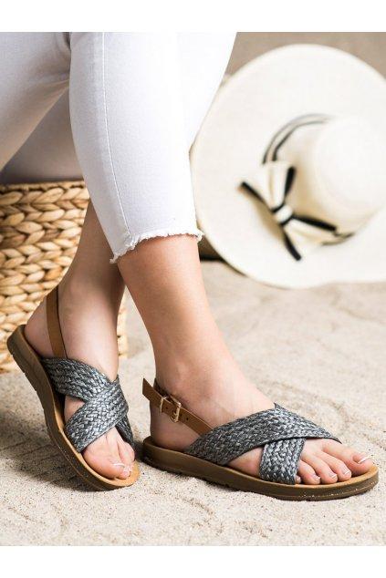 Čierne dámske sandále Trendi kod WSA-70B