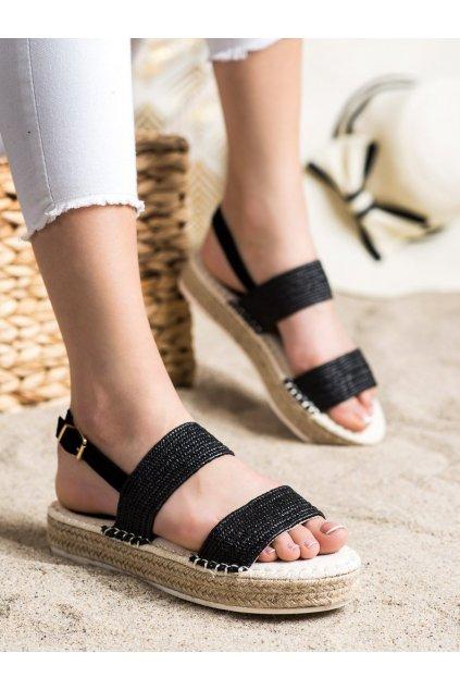 Čierne dámske sandále Trendi kod WSA-65B