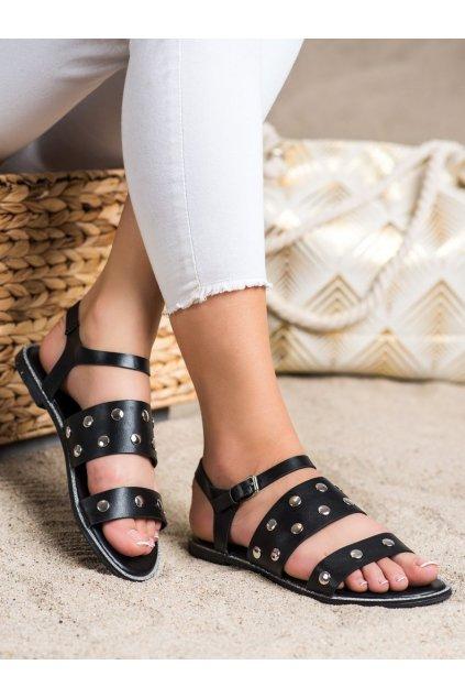 Čierne dámske sandále Goodin kod GD-YQ-85B