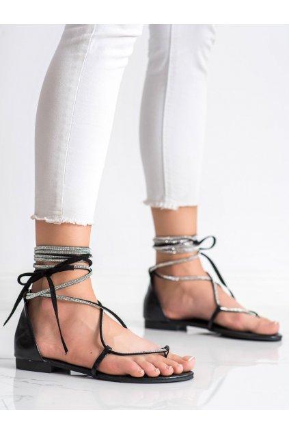 Čierne dámske sandále Seastar kod JH187B