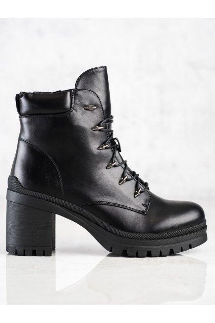 Čierne dámske topánky Filippo kod DBT3051B