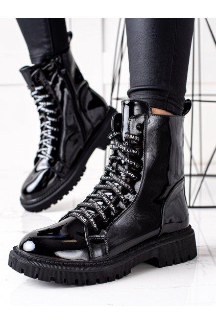 Čierne dámske topánky Goodin kod GD-DO-603B