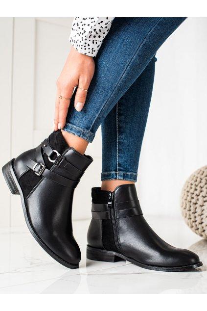 Čierne dámske topánky Goodin kod GD-DO-611B