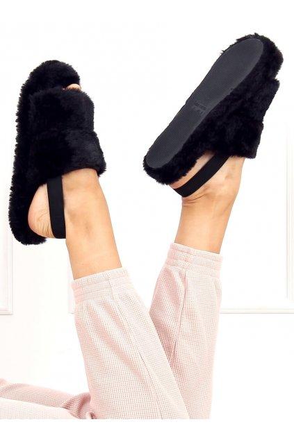 Damske ponožky čierne N-92