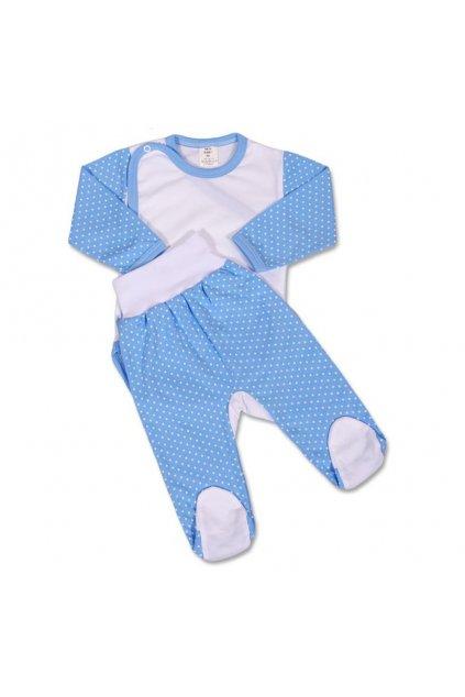2-dielna súprava New Baby Bodka modrá