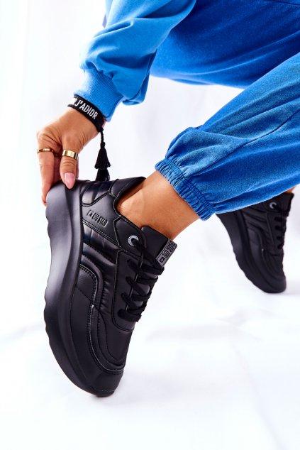 Dámske tenisky farba čierna kód obuvi II274332 BLK