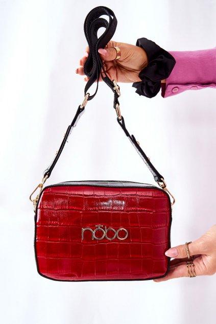 Dámska kabelka červená kód kabelky NBAG-L1740-CM05 RED