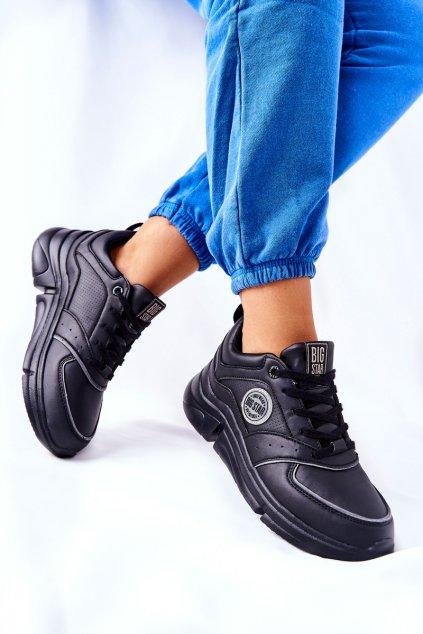 Dámske tenisky farba čierna kód obuvi II274313 BLK