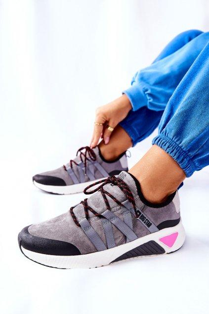 Dámske tenisky farba čierna kód obuvi II274306 GREY