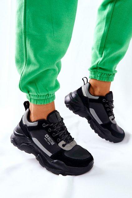 Dámske tenisky farba čierna kód obuvi II274285 BLK