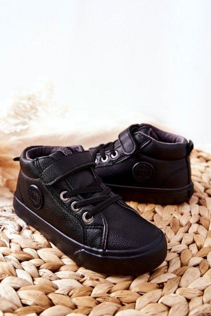 Detské tenisky farba čierna kód obuvi EE374001 BLK